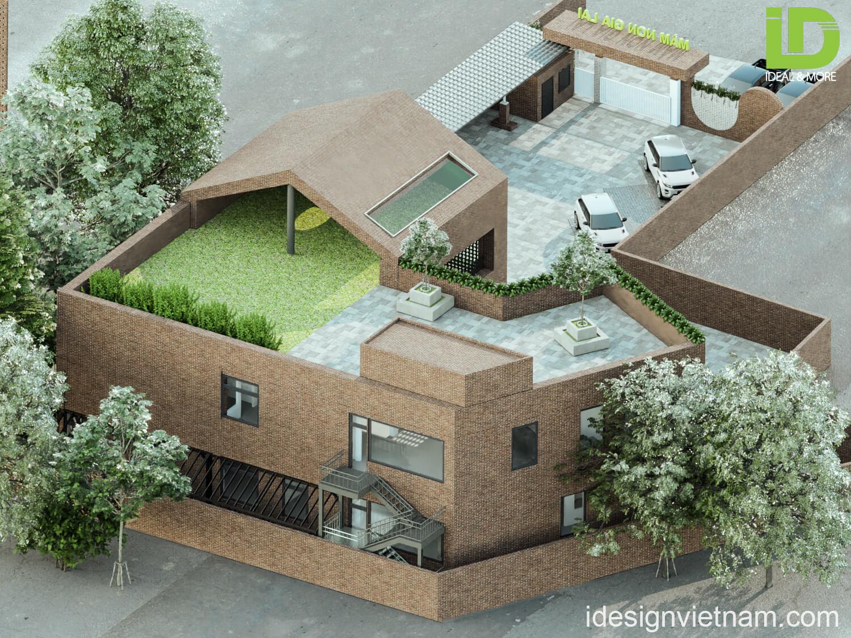 Khám phá bản thiết kế kiến trúc trường mầm non Gia Lai Academy